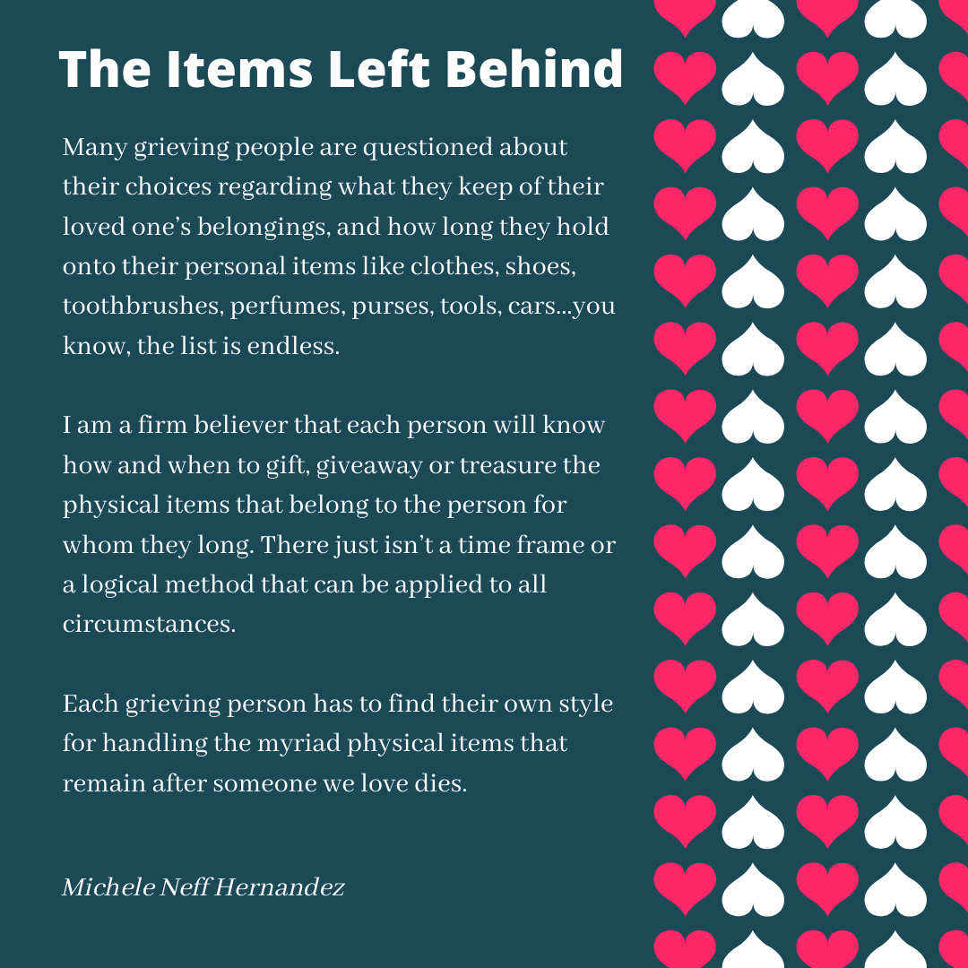 The Items Left Behind